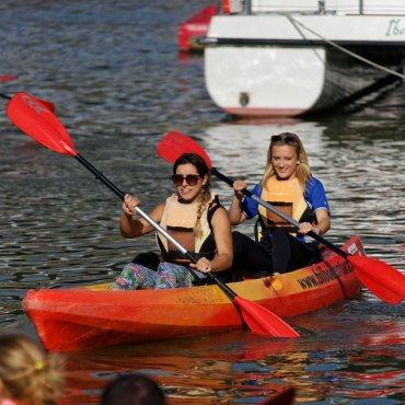 Kayaking In Bilbao