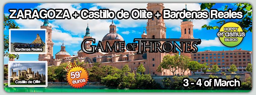 Zaragoza Castillo De Olite Bardenas Reales
