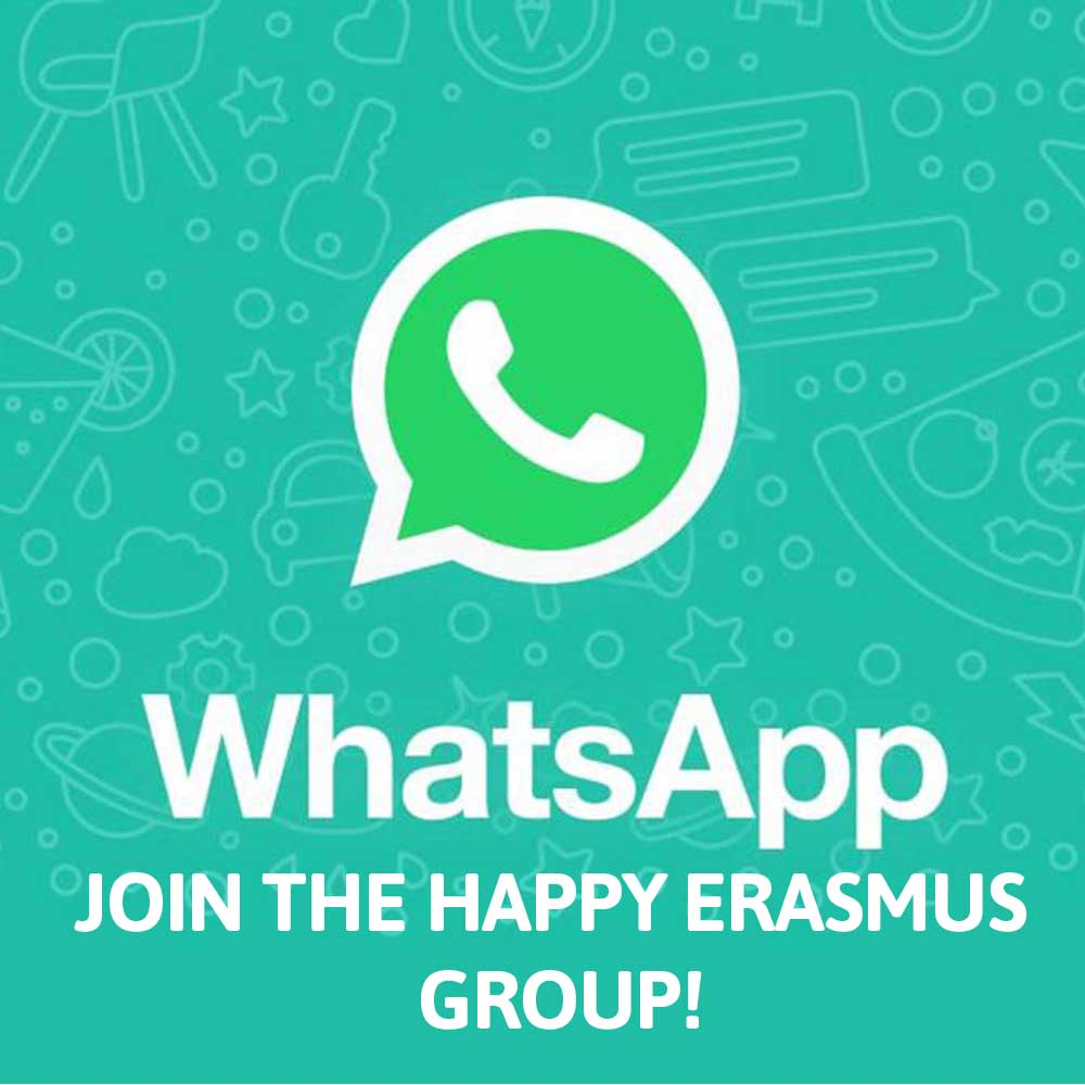 Happy Erasmus Whatsapp Group
